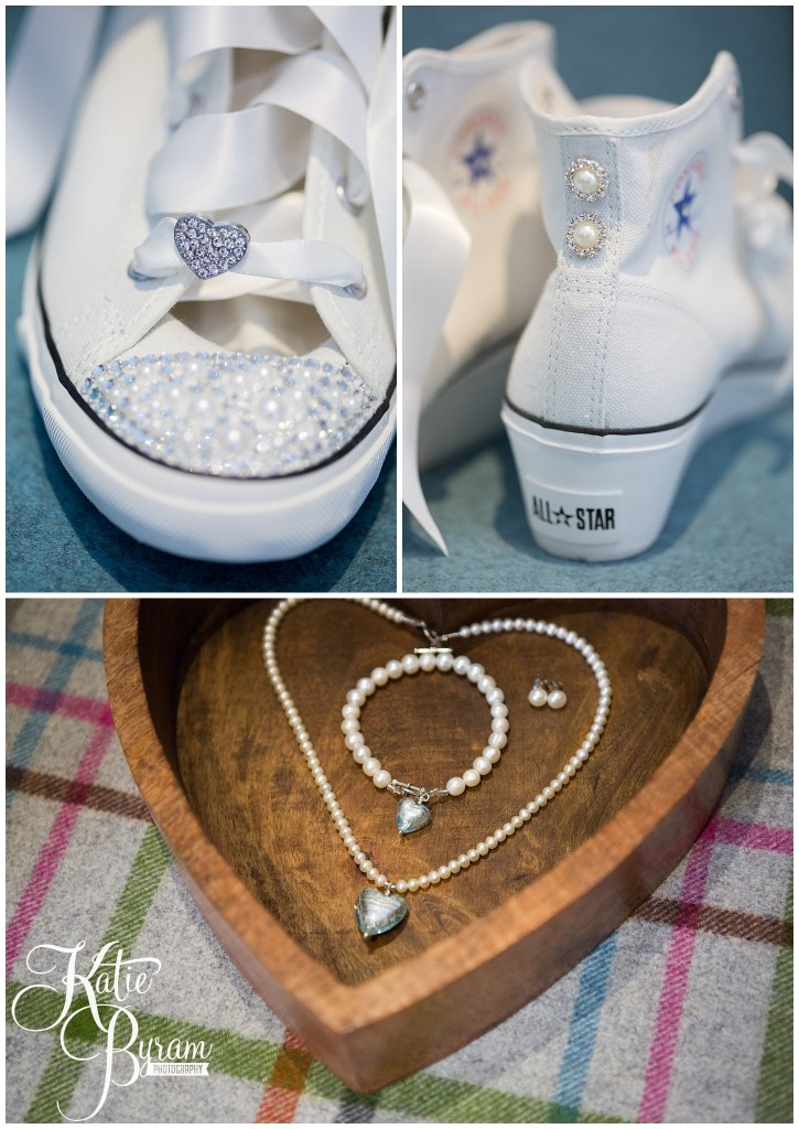 wedding converse, harrogate wedding, the white hart harrogate, katie byram photography, north yorkshire wedding venue