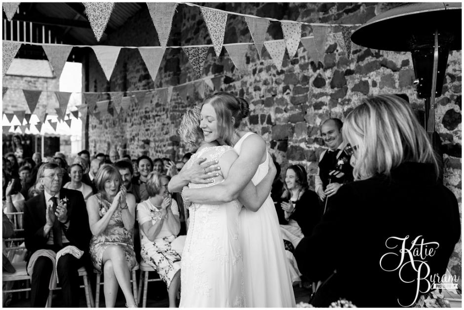 high house farm brewery wedding, healey barn wedding, katie byram photography, two bride wedding, gay wedding photographer, newcastle wedding photographer, northumberland wedding venue, quirky wedding venues northumberland