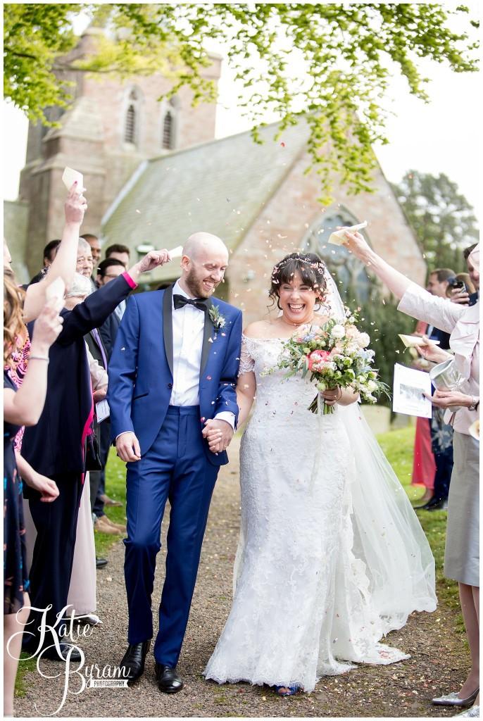 confetti photograph, ellingham hall wedding, valley retro car, wildflower florist, northumberland wedding, northumberland wedding venue, katie byram photography, yap bridal,