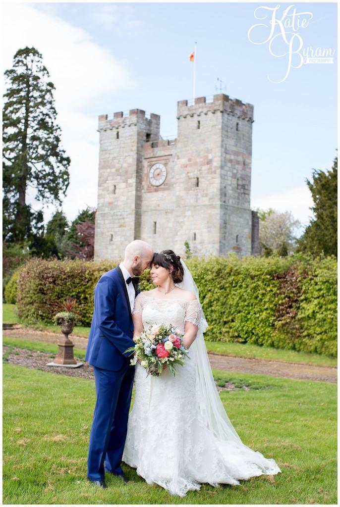 preston tower, northumberland, ellingham hall wedding, valley retro car, wildflower florist, northumberland wedding, northumberland wedding venue, katie byram photography, yap bridal,