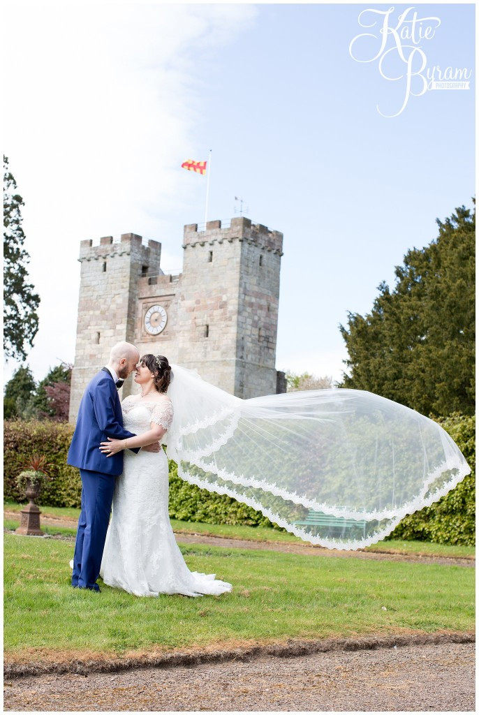 preston tower, ellingham hall wedding, valley retro car, wildflower florist, northumberland wedding, northumberland wedding venue, katie byram photography, yap bridal,