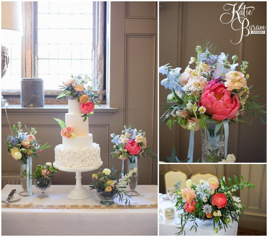 mastercake smith, ellingham hall wedding, valley retro car, wildflower florist, northumberland wedding, northumberland wedding venue, katie byram photography, yap bridal,
