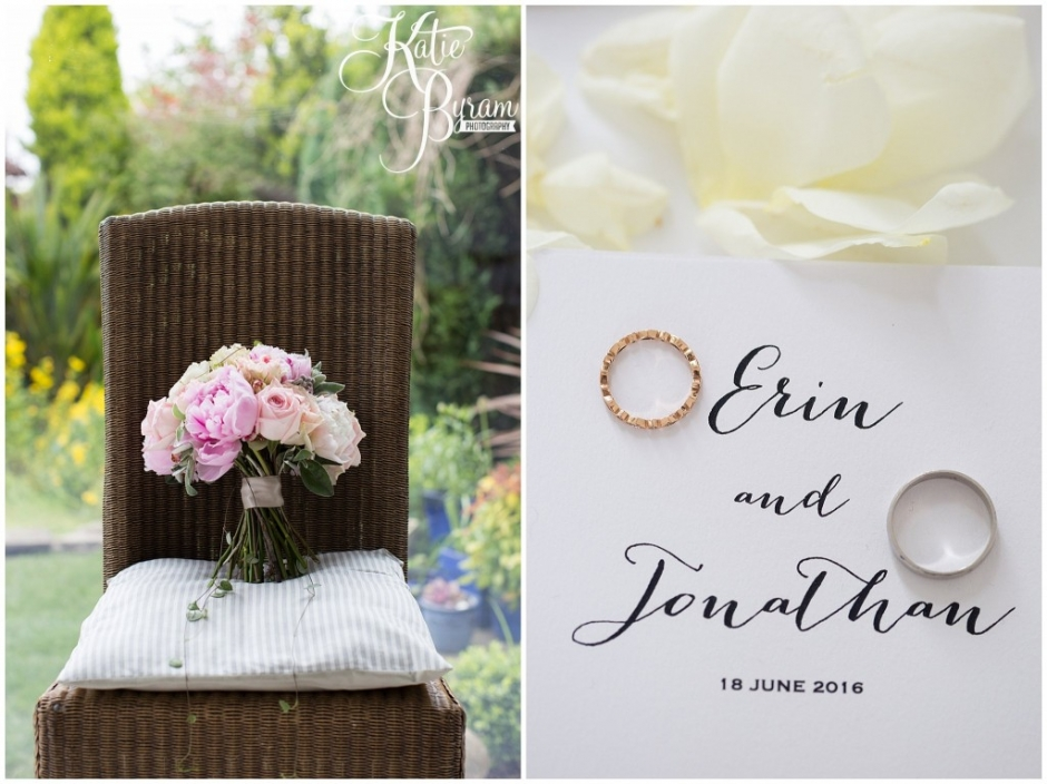 bels flowers, east boldon wedding, backyard wedding, diy wedding, katie byram photography,