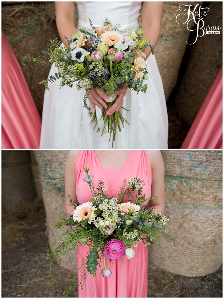 eliza blooms, high house farm brewery, matfen, barn wedding northumberland, outdoor wedding northumberland, katie byram photography, animal themed wedding, healey barn,