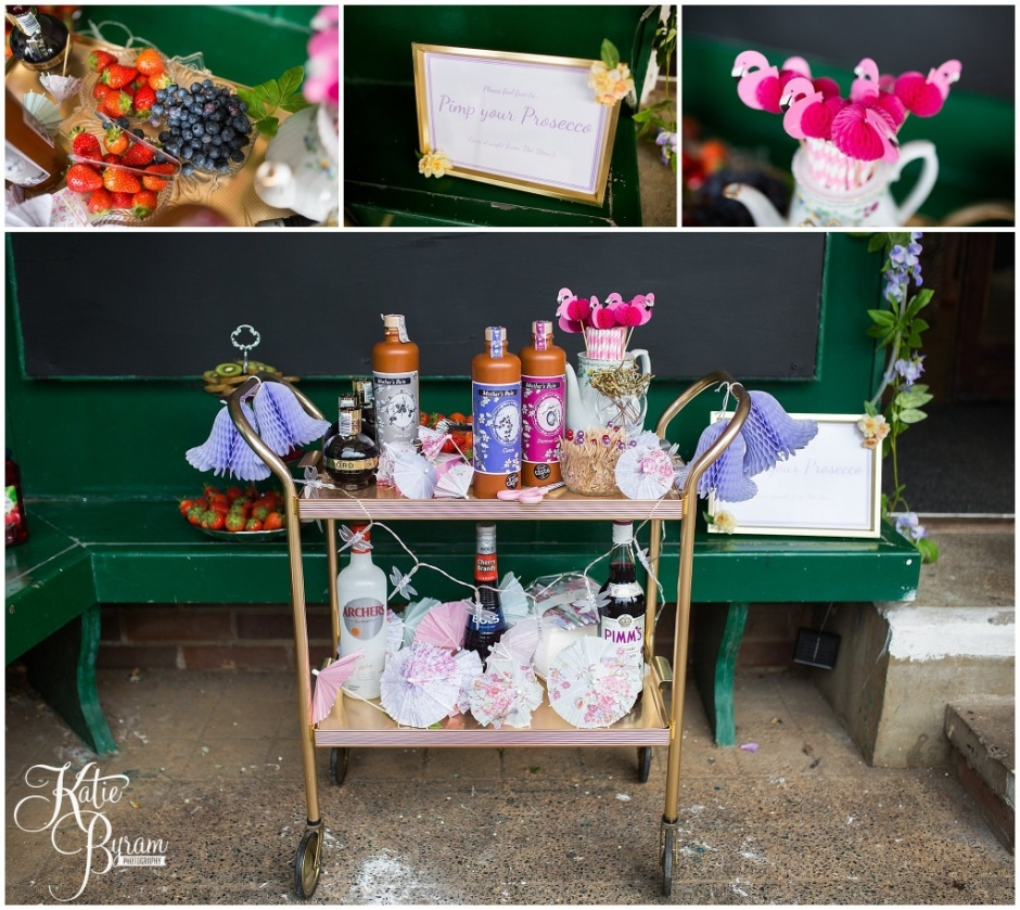 prosecco trolley, pimp your prosecco, summerhill bowling club, mining institute wedding, katie byram photography, diy wedding, newcastle city centre wedding,