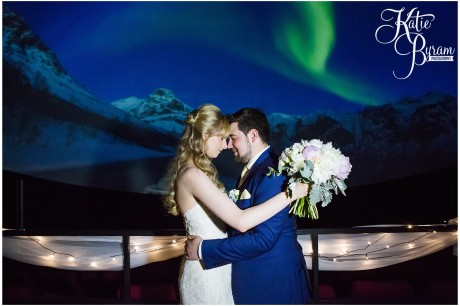 northern lights wedding, centre for life wedding, planetarium wedding, newcastle city centre wedding, newcastle wedding venue, newcastle upon tyne, katie byram photography,