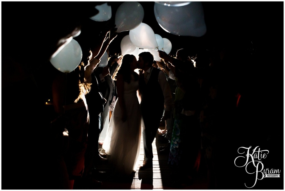 balloon send off, alnwick treehouse wedding, woodland wedding, katie byram photography, cosmic flower shop, foliage bouquet, the plough alnwick, alnwick garden wedding, treehouse wedding photos, treehouse wedding, northumberland wedding venue, quirky wedding venue, after dark wedding, game of thrones wedding, game of thrones theme,