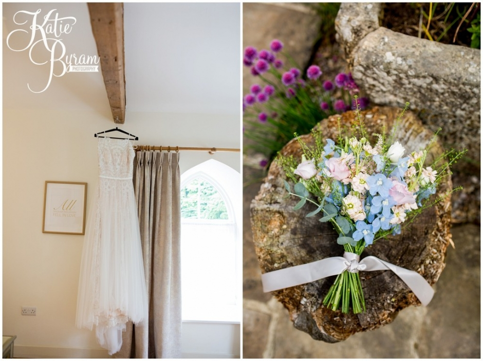 lavenders blue florist, northumberland florist, brinkburn priory wedding, brinkburn weddings, northumberland wedding venue, katie byram photography, chris and joanna wedding