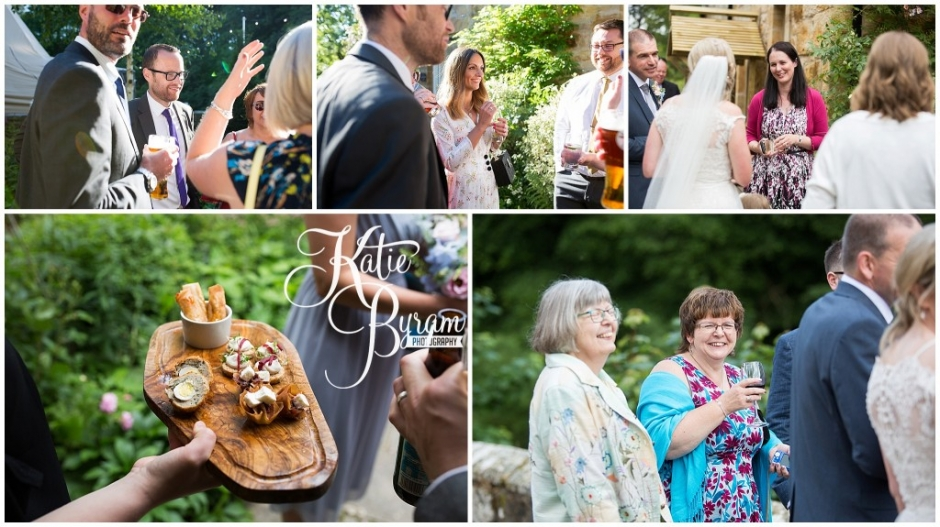 relaxed wedding photography, brinkburn priory wedding, brinkburn weddings, northumberland wedding venue, katie byram photography, chris and joanna wedding