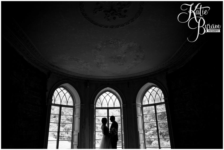 brinkburn priory wedding, brinkburn weddings, northumberland wedding venue, katie byram photography, chris and joanna wedding