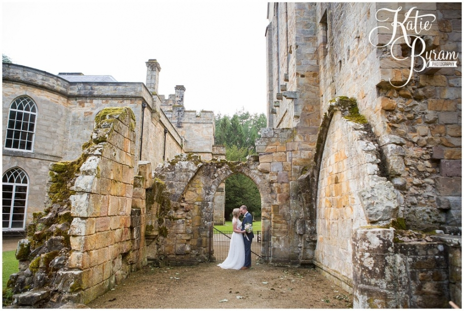 brinkburn priory wedding, brinkburn weddings, northumberland wedding venue, katie byram photography, chris and joanna wedding