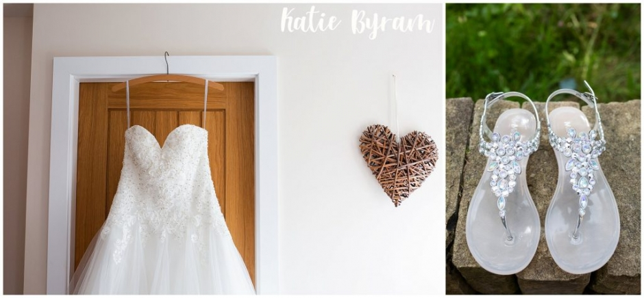 bridal preparations,