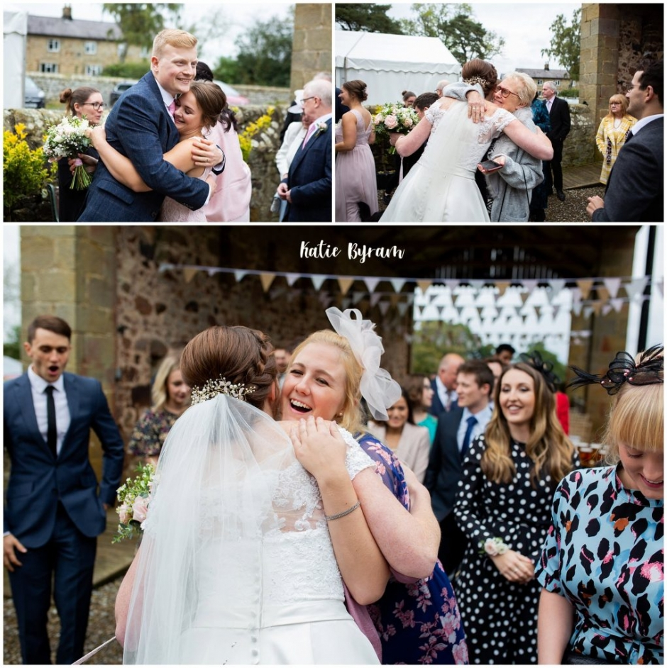 high house farm brewery wedding, dogs at weddings, yorkshire wedding venue, katie byram photography, huddersfield wedding photographer, northumberland wedding venue, outside wedding venue ,